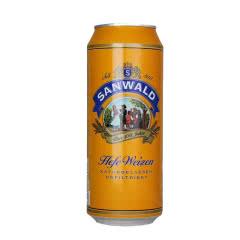 德国进口斯图加特白啤500ml/罐*24