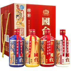 53°国台国彩四彩500mL(4瓶装)