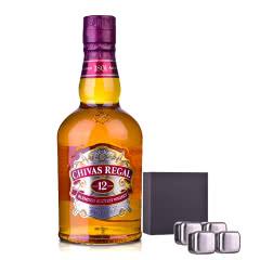 40°英国芝华士12年苏格兰威士忌500ml+冰酒石*4
