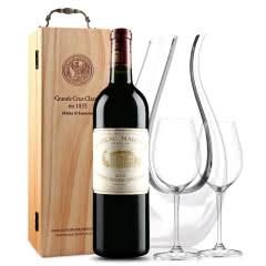 玛歌古堡干红葡萄酒 法国原瓶进口 1855列级庄 一级庄 玛歌正牌 2001年 750ml