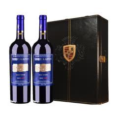 路易拉菲2007侯爵古堡干红葡萄酒红酒双支礼盒装750ml*2