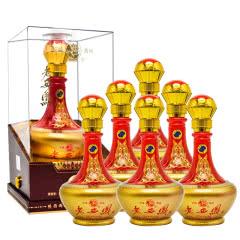 陕西西凤酒 老西凤鉴赏级 手工水晶盒52° 500ml*6瓶(整箱)