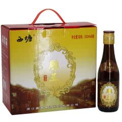 14°嘉善西塘黄酒西塘雕王250ml*8瓶价