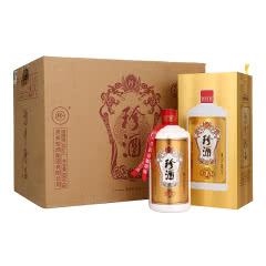 53°珍酒珍五金装版 贵州酱香型白酒礼盒装 易地茅台酒 固态纯粮 500ml*6瓶