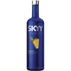 35°深蓝伏特加SKYY口味系列菠萝口味美国原瓶进口750ml