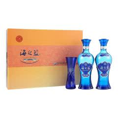 42度洋河蓝色经典海之蓝礼盒装480ml*2