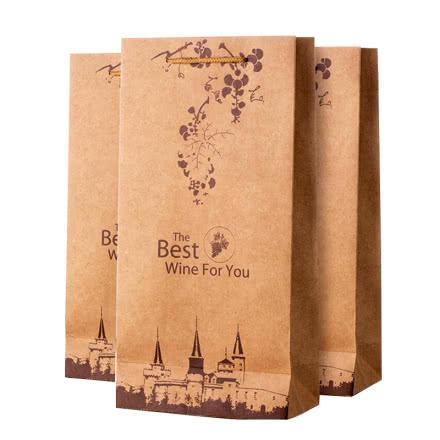 红酒原装手提袋(图片仅供参考)