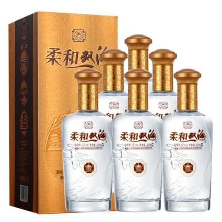 42°双沟柔和双沟(金)450ml(6瓶装)