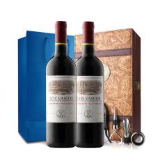拉菲进口红酒拉菲巴斯克卡本妮苏维翁红葡萄酒红酒双支礼盒(ASC)750ml(2瓶装)