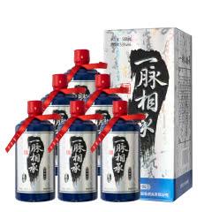 53° 一脉相承(蓝酱)固态纯粮 手工型酱香白酒 500ml*6