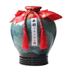 绍兴手工黄酒十二年陈酿花雕酒坛装礼盒2500ml