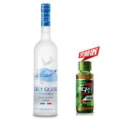 40°法国(Grey Goose Vodka)灰雁伏特加 进口洋酒鸡尾酒烈酒750ml