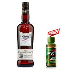 40°英国(Dewar's)帝王12年调配苏格兰威士忌进口洋酒700ml