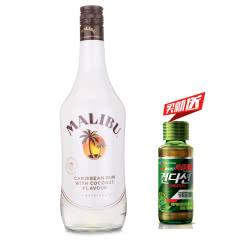 21°西班牙(Malibu)马利宝加勒比椰子朗姆配制酒进口洋酒鸡尾酒基酒700ml