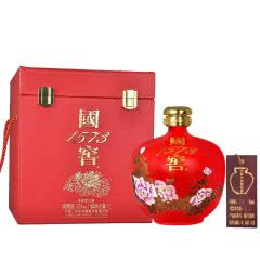 53°泸州老窖 国窖1573 国韵 大坛 白酒 1L