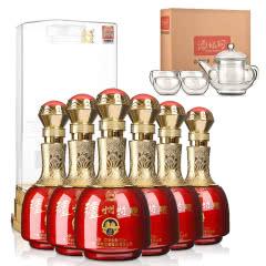 52°泸州老窖泸州特酿500ml(整箱装)+茶具五件套(酒仙会员专享)