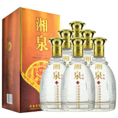 52°酒鬼酒 湘泉珍藏酒 馥郁香型白酒 500ml*6瓶装