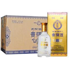 52°藏佳纯青稞酒浓香型白酒250ml*8瓶