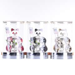 52°五粮液(金红黑熊猫造型)250ml(2013年)3瓶