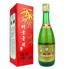 老酒 45º竹叶青酒红盒500ml(2001年)