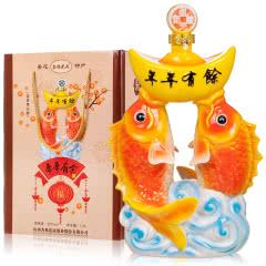 53°山西汾酒产地杏花村镇年年有余白酒礼品礼盒酒1.5L