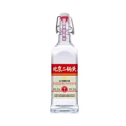 42度华都牌北京二锅头出口型小方瓶清香型白酒450ml