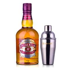 【只亏100套】40°英国芝华士12年苏格兰威士忌500ml+芝华士摇酒壶