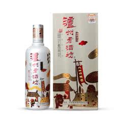 52°泸州老酒坊金色岁月浓香型白酒500ml