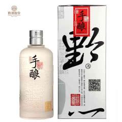 黔九 【酒厂自营】黔酒一号手酿天香6 酱香型酒 53度500ml瓶陈酿白酒 单瓶装