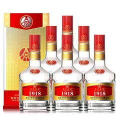 52°五粮液股份壹玖壹捌(1918)佳酿白酒 500ml(6瓶装)