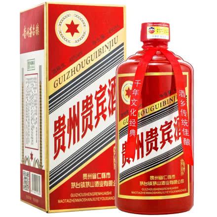 42°茅台镇贵州贵宾酒(红色)450mL