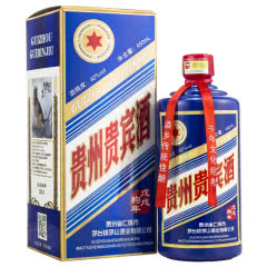 42°茅台镇贵州贵宾酒狗年纪念版450mL