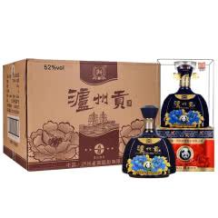 52°泸州贡A/8浓香型白酒500ml*6瓶