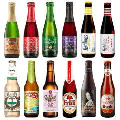 进口啤酒水果啤酒樱桃粉象林德曼等12种组合