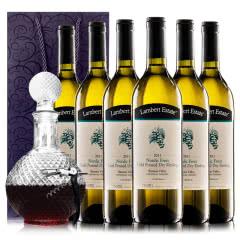 澳洲原瓶进口兰伯特诺蒂克冰封雷司令干白葡萄酒750ml*6