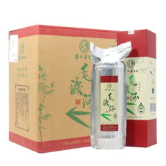 45°毛渡河竹筒酒贵州茅台镇原浆酒生态鲜竹酒500ml(6瓶装)