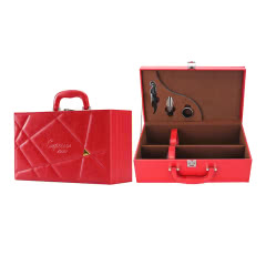 红酒手提箱红色(2支装)