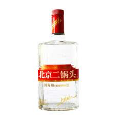 41.8°永丰牌北京二锅头白酒 国际版大师酿 清香型纯粮食酒 白瓶500ml单