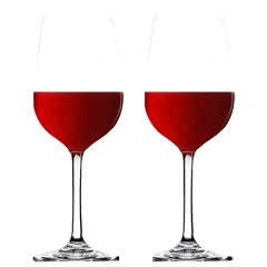 红酒酒杯 葡萄酒酒杯 高脚杯2个(赠品套装)