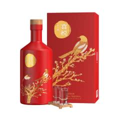 谷小酒喜悦52度浓香型白酒500ml礼盒装高度纯粮食酿造宜宾五粮