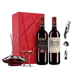 路易拉菲(LOUIS LAFON) 进口红酒 精选+特选干红葡萄酒750ml(2瓶装)
