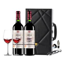 法国原瓶进口红酒路易拉菲干红葡萄酒红酒750ml(2瓶装)