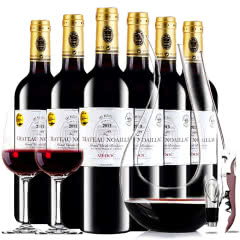 【中级庄】法国红酒梅多克诺雅克庄园2012/2013干红葡萄酒红酒整箱装750ml*6