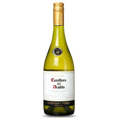红魔鬼葡萄酒 智利原装原瓶进口红酒  单支 霞多丽 白葡萄酒 750ml