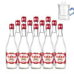 50°枝江大曲480ml(12瓶装)+高硼硅耐热玻璃杯