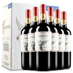 蒙特斯红酒 智利原瓶进口 蒙特斯经典系列赤霞珠红葡萄酒 六支整箱 750ml*6