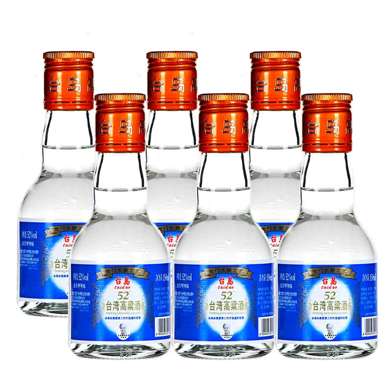 台岛台湾高粱酒高度金门浓香型白酒整箱52度150ml 24瓶图片