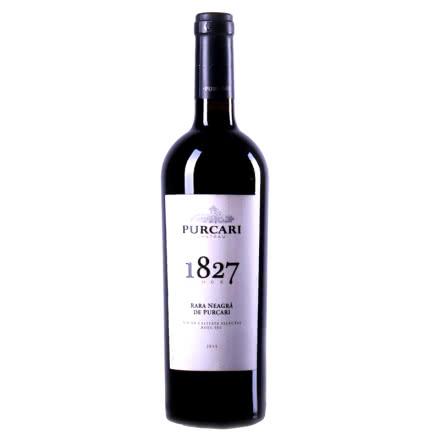 摩尔多瓦原装进口红酒 普嘉利(PURCARI) 1827黑拉雅干红葡萄酒 750ml