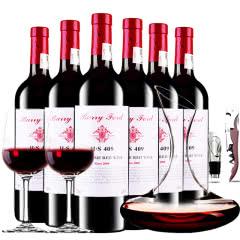 奔富至尊干红葡萄酒H·S409红酒整箱醒酒器装750ml*6