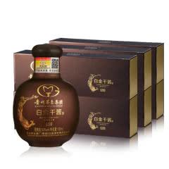 53°贵州茅台集团白金酒公司白金干酱GJ30酒100ml*5*6条 礼盒装(整箱)